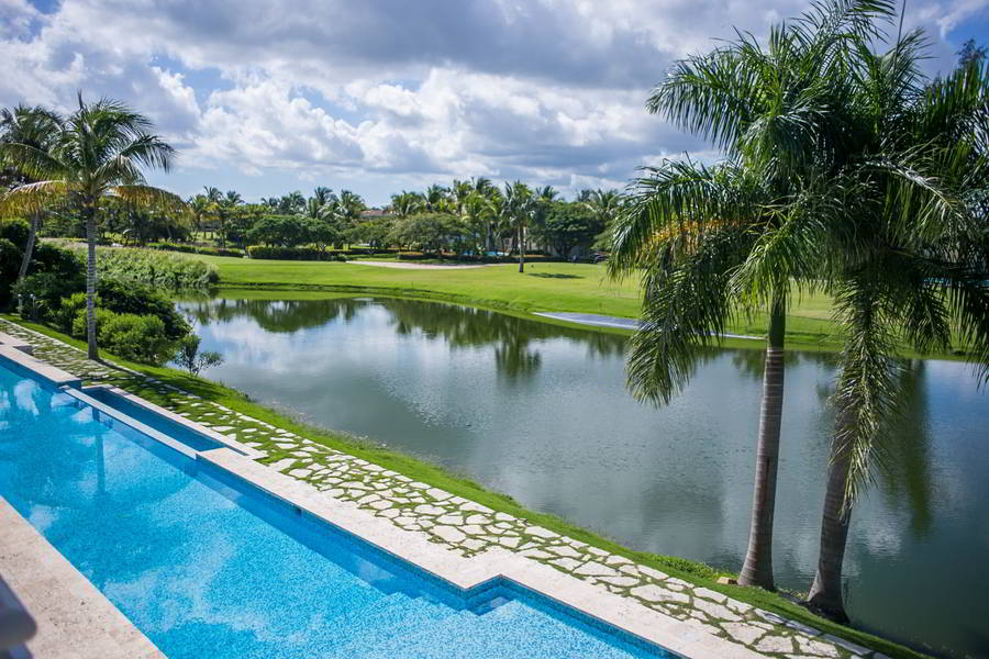 CONDO GOLF COURSE PUNTA CANA - LAKE VIEW 209K e56565ry