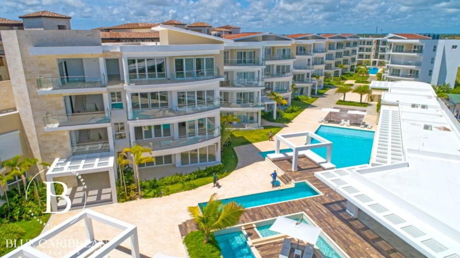 Playa Coral - Oceanfront condo - Punta Cana property 345g